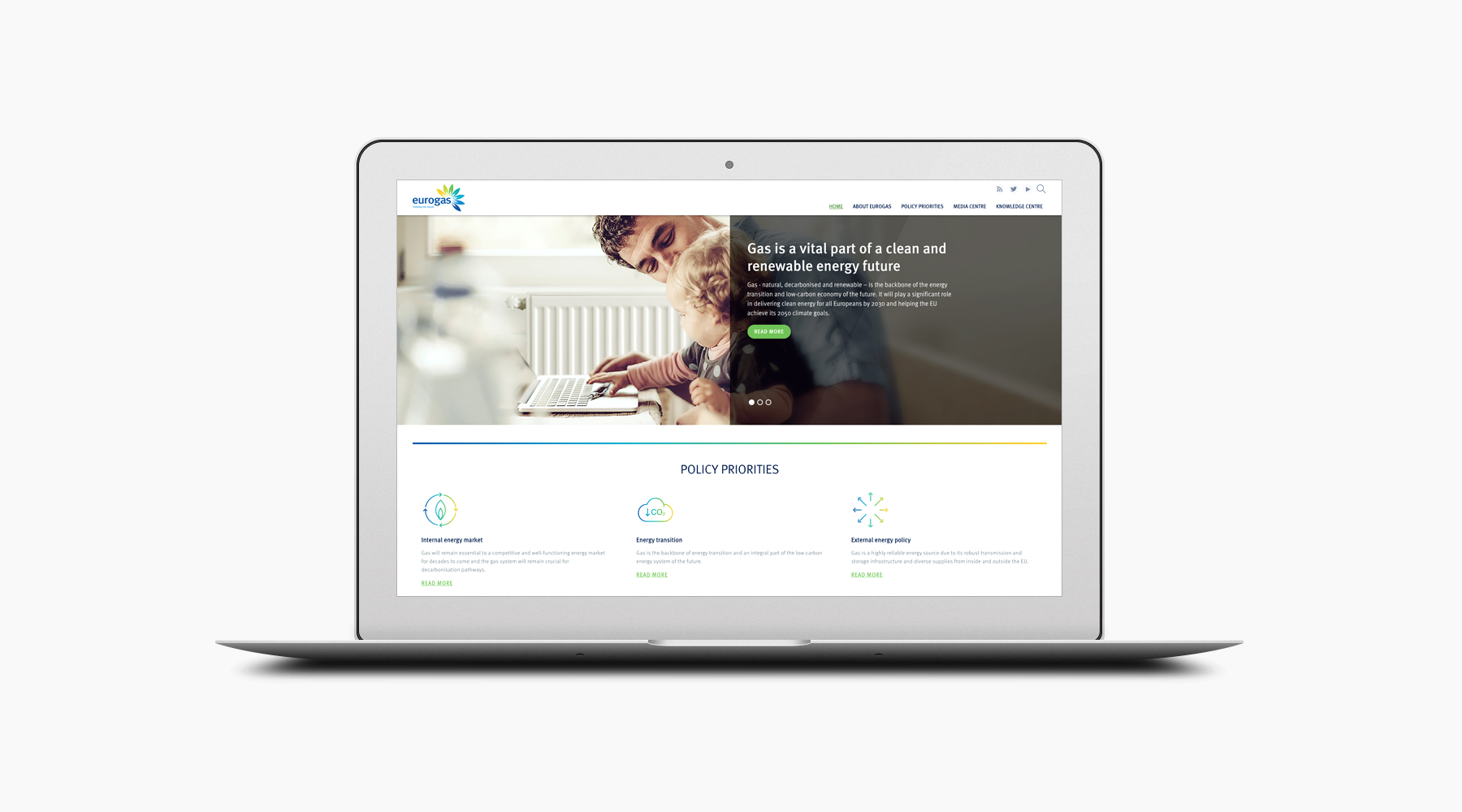 Case Study: Eurogas website 03